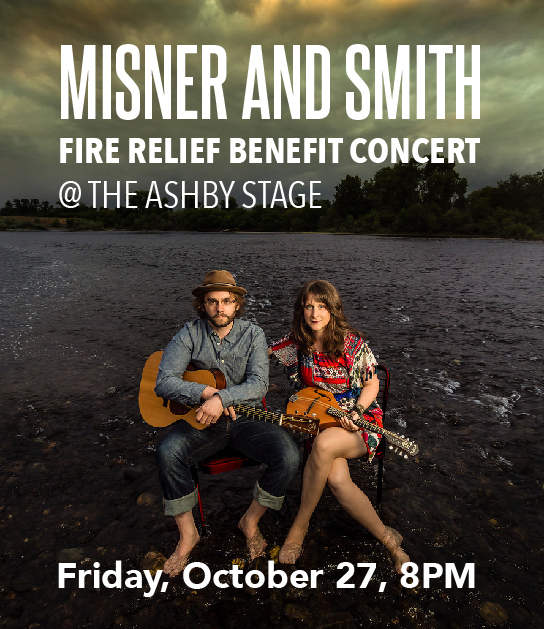 Misner and Smith Fired Relief Benefit Concert
